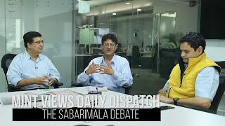 Sabarimala issue: Gender equality vs freedom of religion | Mint Views