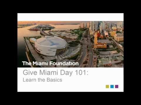 Give Miami Day 2015: Learn the Basics