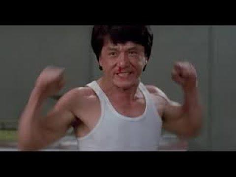 Джеки Чан,Бенни Уркидес  фильм Драконы навсегда(1988 год) финальный бой