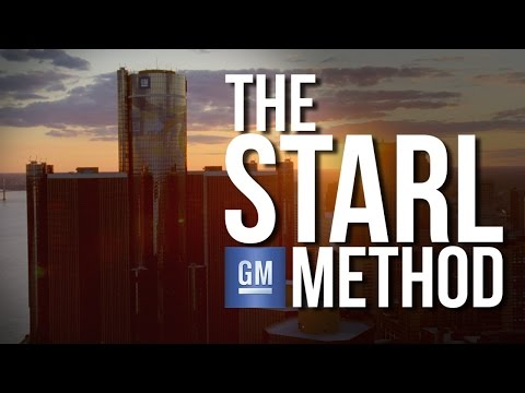 General Motors: The S.T.A.R.L. Method