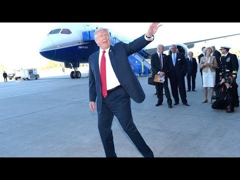 SPLENDID: President Donald Trump Motorcade Stopping by to Greet Cheering Supporters