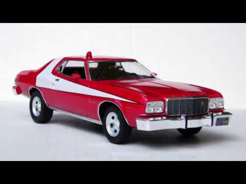 1/25 Scale Starsky & Hutch Torino - Finished Model