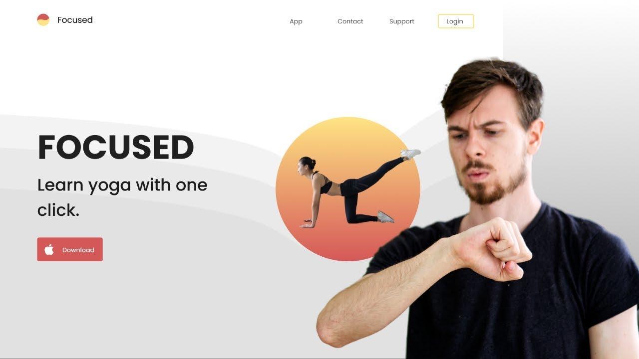 I Design A Website In 20 Minutes