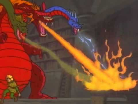 Image result for dungeons and dragons cartoon tiamat episode 1