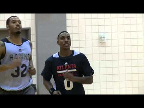 Jeff Teague at Hawks Training Camp