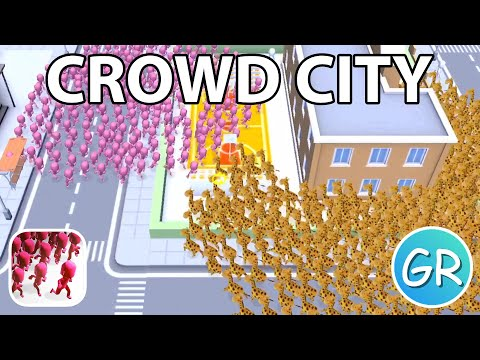 Crowd City Gameplay | Playing 1 Round With Each Skin (Part 3)