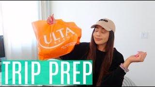 How I Prep For a Trip + ULTA HAUL