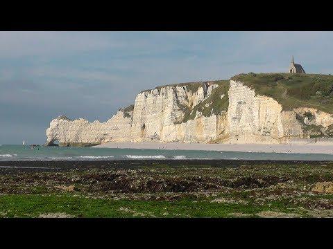 FRANCE Alabaster Coast, Normandy (hd-video)