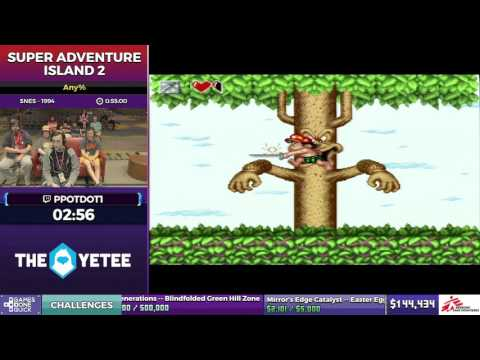 Super Adventure Island 2 by Ppotdot1 in 48:47 - SGDQ2017 - Part 15