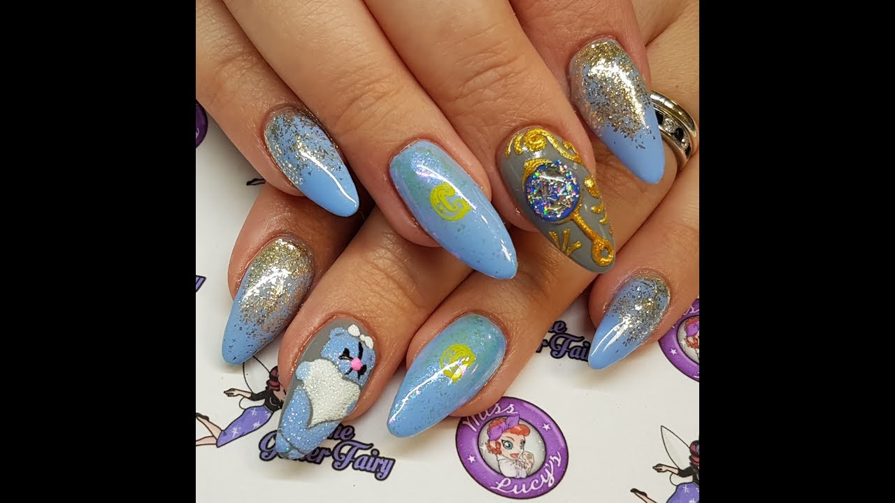 It's a Boy! Acrylic Nails, Baby Boy, Stamping, 3d Gel - It's A Boy! Acrylic Nails, Baby Boy, Stamping, 3d Gel - YouTube