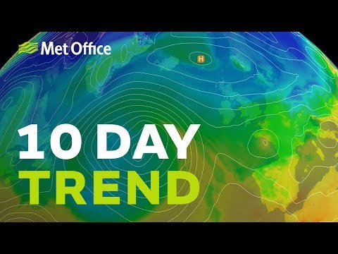 10 Day trend – A battleground next week; its cold & dry very mild & wet 21/11/18