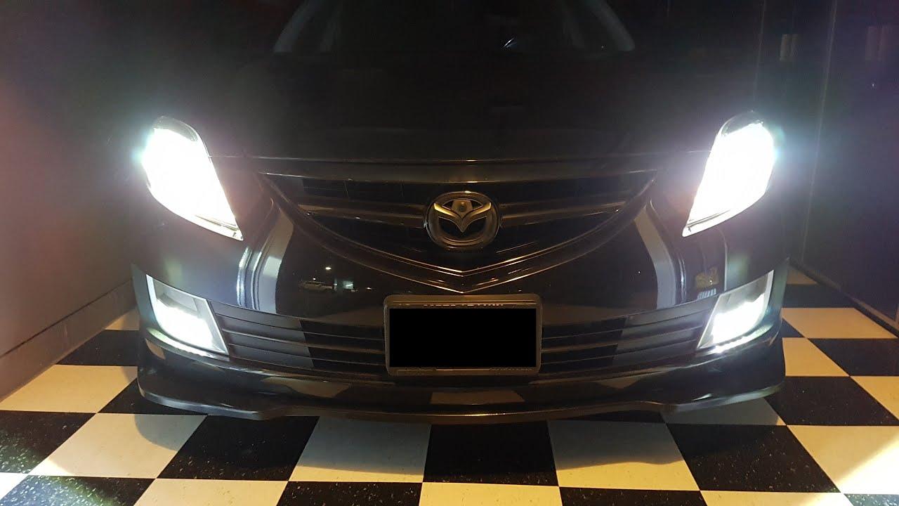 PREMIUM Super Bright-Mazda 3 2nd Gen-Intérieur DEL Smd Lumière Kit-Xenon