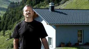 PREFA bei homegate TV - Reportage, Bergrestaurant Laucheren (Schweiz)