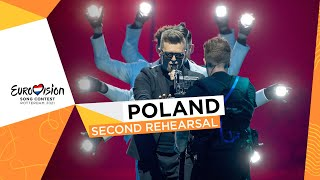 RAFAŁ - The Ride - Second Rehearsal - Poland 🇵🇱 - Eurovision 2021