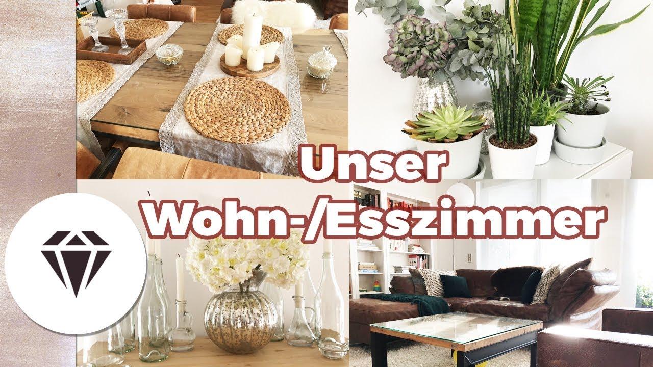 Unser WOHN-ESS-ZIMMER I Einrichtung, Deko, Inspiration I ...