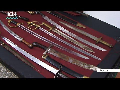 Уникальное оружие Тульского оружейного музея представили на выставке в Барнауле