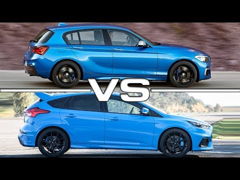 BMW Mi vs  Ford Focus RS