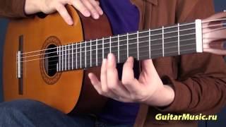 Как научиться правильно играть левой рукой на гитаре