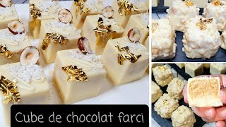 CUBE DE CHOCOLAT FARCI