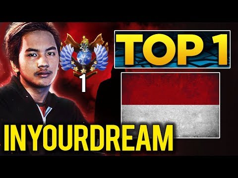 TOP 1 MMR in the World - inYourdreaM SEA Star Player - Dota 2