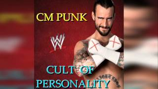 WWE : CM Punk 2nd Theme Song - Cult of personality [Custom Cover + Arena Effects]