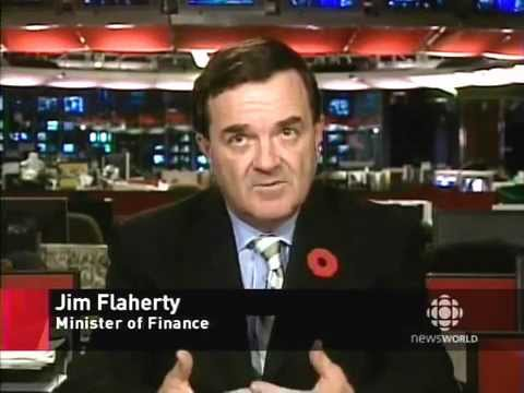 """Jim Flaherty: """"We have to look at the long-term good of Canada"""""""