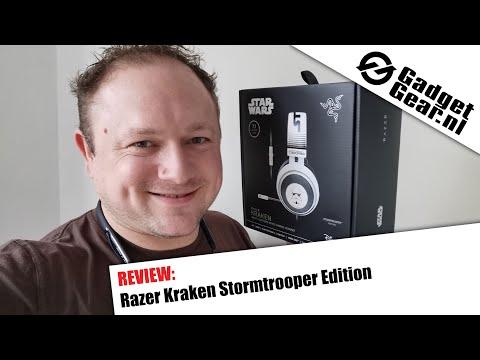 Razer Kraken Stormtrooper Edition Review en Unboxing