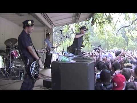 "LEFTOVER CRACK // CHOKING VICTIM at Tompkins Square Park 2002 ""Anniversary of the 1988 Police Riots"""