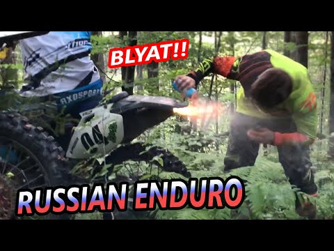 Slavic Dirt Bike Culture - WE COME FROM MOSCOW!!