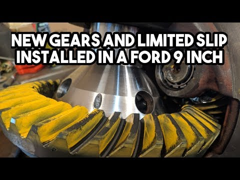 How To Change Gears And Add A Limited Slip To A Ford 9-inch
