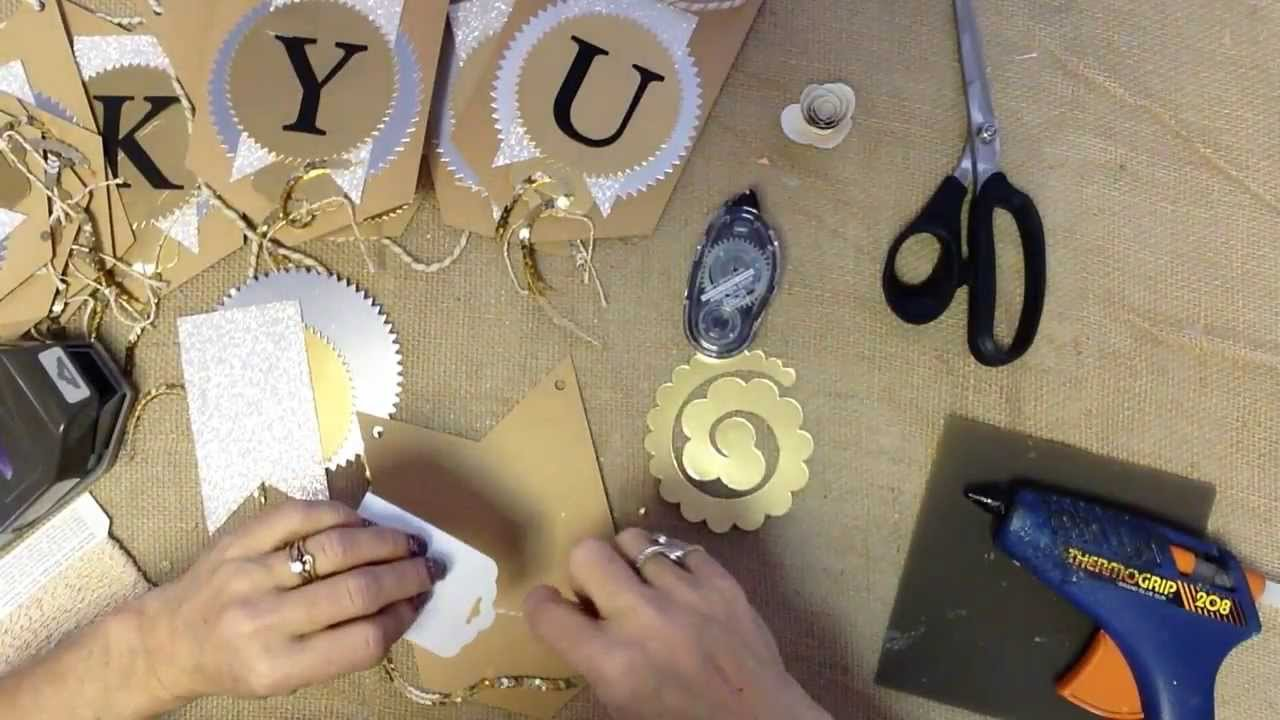 How To Make A Thank You Banner For Your Wedding