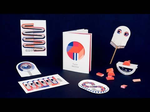 Papier Machine Vol.0  the interactive electronic paper toy New Technology Tech World
