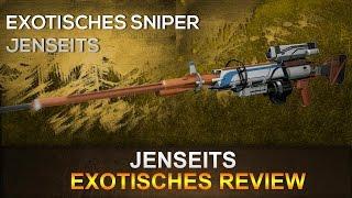 Destiny: exotische Sniper / Jenseits [Deutsch]