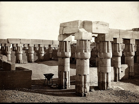 Vintage photographs of megaliths in Egypt 1/2