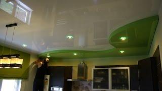 видео натяжные потолки в в Пушкино