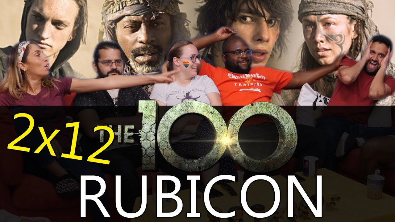 Download The 100 - 2x12 Rubicon - Group Reaction