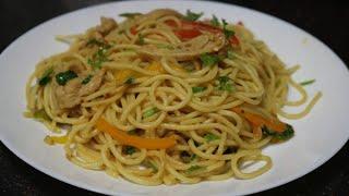 Chicken Spaghetti Recipekids favourite!!!