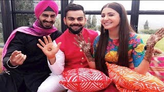 বিরাট-অনুষ্কার রিং পরানো বিশেষ মুহুর্ত (LIVE)    Virat Anushka Married (1st Part)   Channel IceCream