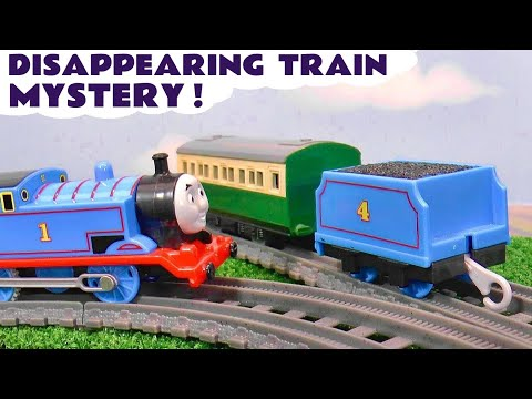 MYSTERY Disappearing Toy Trains with Thomas and the Funlings