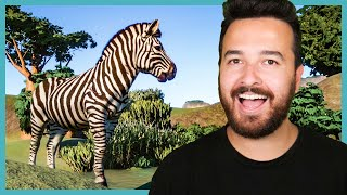 The Zebras ESCAPED and we need to stop them! Planet Zoo (Part 6)