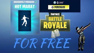 Getting hot marat for free| Fortnite Battle Royal shopping spree
