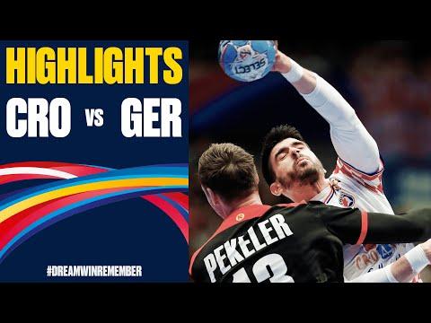 Croatia Vs. Germany Highlights | Day 10 | Men's EHF EURO 2020