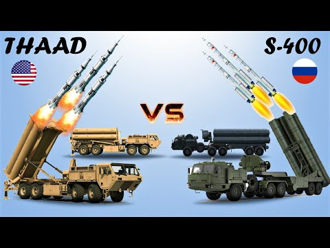 THAAD (USA) vs S-400 (Russia) | Comparison between two Air Defense System (2020)