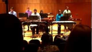 Graceful Ghost Rag - GSU Percussion Ensemble