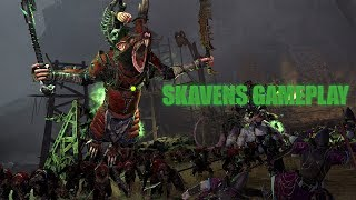 Total War: WARHAMMER 2 | Gameplay con Skavens
