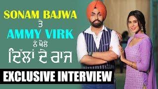 Ammy virk and sonam bajwa | nikka zaildar 2  (full interview) episode 27 | gabruu da dhaba