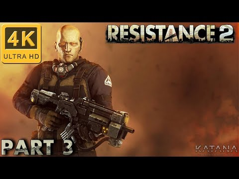 Resistance 2 Difficult Walkthrough   Part 3   Orick, California