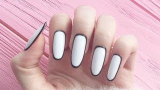 Cute Nails Designs Tutorial - Quick And Easy Nail Art #1