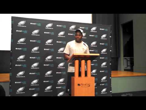 Eagles news conference with Felix Jones