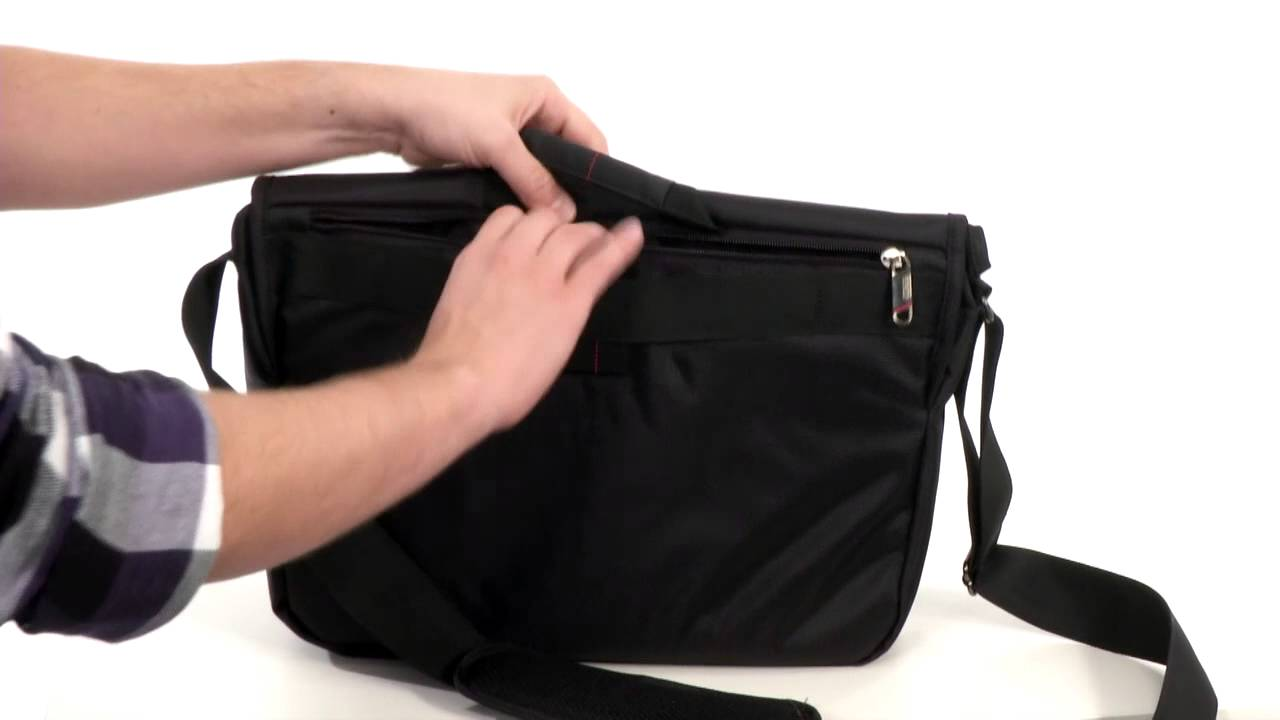 Samsonite Xenon 2 Messenger Bag Sku 8047563 Youtube